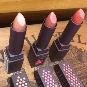 "New Burt's bees ""light"" lipsticks"